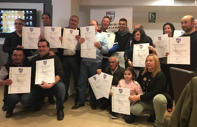 Galardonados los mejores cazadores de la provincia de Albacete