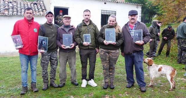 César Muñoz, nuevo campeón provincial de caza menor con perro en Ciudad Real
