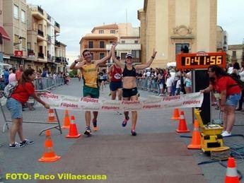 Anass Bouhaoui y Laura Villar vencieron en la XIII Carrera Popular de Fuente Álamo