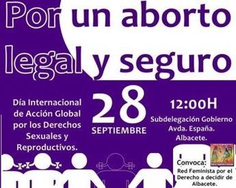 """Para IU """"la movilización feminista consigue la retirada de la reforma de la Ley del aborto"""""""