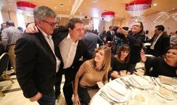 Tradicional comida de hermandad del PSOE de Albacete con Page y Antonio Hernando