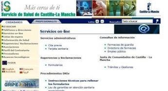 La Policía detiene a dos personas por crear una falsa web de cita previa del Sescam
