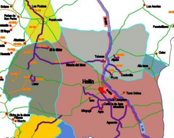 La Diputación de Albacete inicia la estrategia de desarrollo urbano sostenible en Hellín y municipios colidantes
