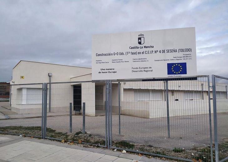 El DOCM hace pública la formalización del contrato de las obras de ampliación del CEIP Nº 4 del Barrio 'El Quiñón' de Seseña