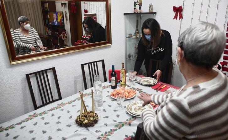 Tres de cada cuatro castellanomanchegos permaneció en su área de residencia en Nochebuena
