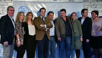 El PP de Albacete celebró su cena de Navidad con la mente puesta en las próximas elecciones