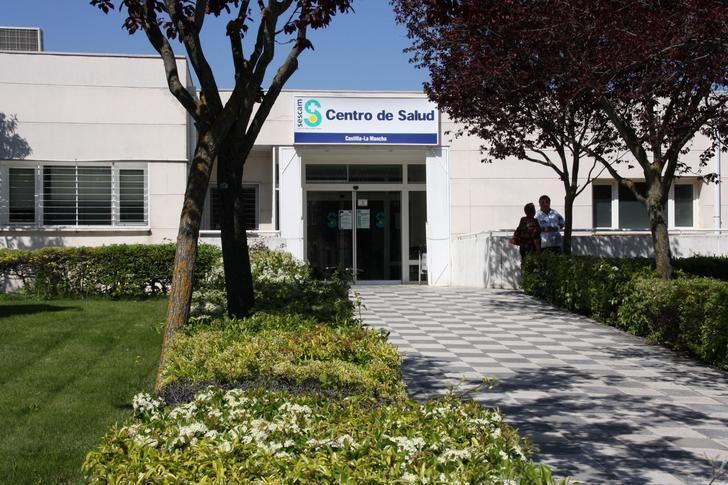Imagen de un centro de salud en Castilla-La Mancha