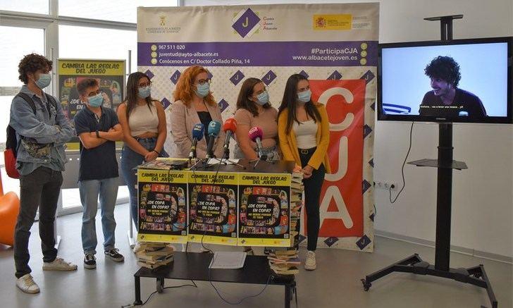 El Ayuntamiento de Albacete presenta la campaña de prevención de consumo de alcohol entre jóvenes