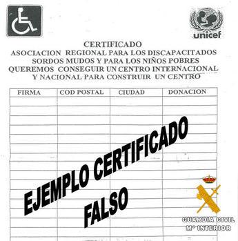 Investigan a dos mujeres por pedir fondos en varias localidades de Albacete para una asociación de sordos inexistente