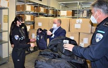 El Ayuntamiento de Albacete compra 203 chalecos de protección personal para la Policía Local