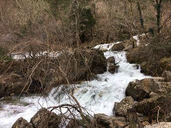 Un centenar de incidencias en Castilla-La Mancha por el mal tiempo, varias en Riópar (Albacete)