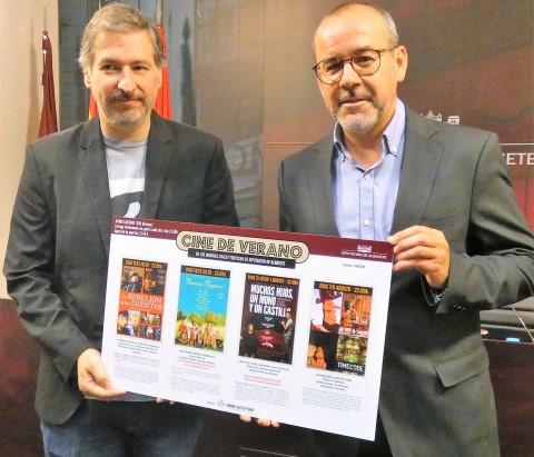 Los jardines del Chalet Fontecha de Albacete acogen la II edición del Cine de Verano