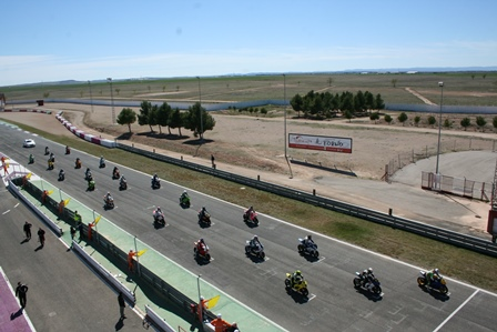 Seis heridos, uno grave, en la grabación de un spot en Circuito de Albacete