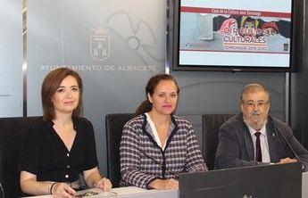 Presentados en el Ayuntamiento de Albacete los próximos 27 espectáculos culturales de teatro, danza o lírica