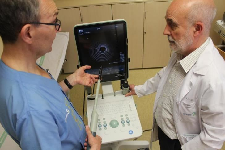 Un nuevo ecógrafo para el servicio de cirugía general del Hospital de Toledo