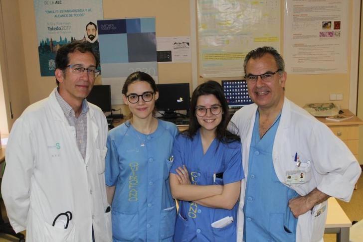 Cirujanos de Toledo y Talavera, premiados por un trabajo sobre la extirpación del esófago con cirugía poco invasiva