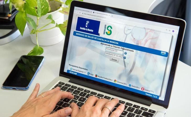 El Hospital de Hellín, uno de los que incorpora Castilla-La Mancha al servicio de cita 'on line' para la consulta con el especialista