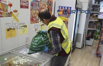 En Ciudad Real y otras provincias hay 59 detenidos e investigados e incautadas más de 119 toneladas de alimentos falsificados