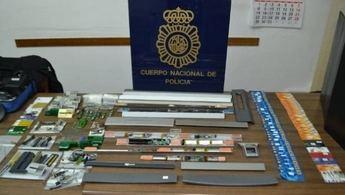 Detenidos en Toledo dos expertos de clonado de tarjetas en cajeros automáticos