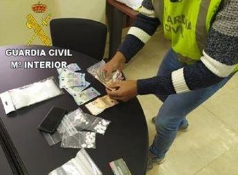 Imagen de archivo de una detención en Hellín por tráfico de cocaína