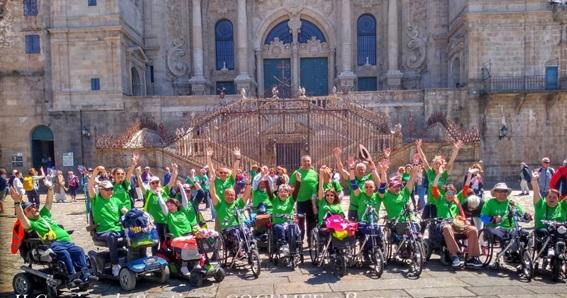 COCEMFE Albacete realiza su II Peregrinación a Santiago de Compostela