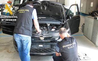 La Guardia Civil de Albacete participa en la detención de una banda que vendía coches alquilados en Alemania