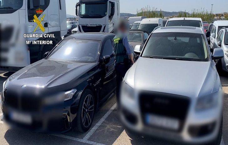 Detenidas 18 personas especializadas en robar vehículos de alta gama que actuaban en Albacete y otras provincias