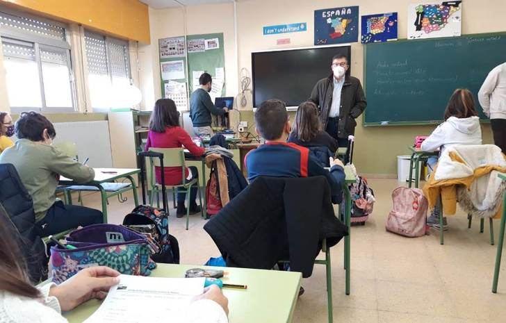 El CEIP 'San Antón' se convierte en el quinto centro educativo de la provincia de Albacete con el sello de calidad