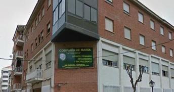 Imagen de la fachada del colegio Compañía de María 'La Enseñanza', en Albacete.
