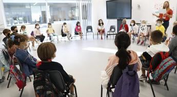 El porcentaje de aulas confinadas por coronavirus en Castilla-La Mancha sigue a la baja
