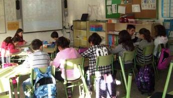 Imagen de archivo de un colegio de Castilla-La Mancha.