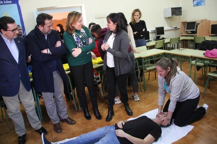 151 docentes de Castilla-La Mancha se incorporarán durante el curso escolar a los centros para poner el programa Reincorpora-T