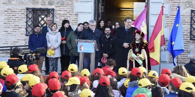 Los colegios de Castilla-La Mancha han participan activamente de las actividades del 40 aniversario de la Constitución