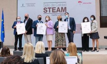46 centros educativos de C-LM reciben un sello de calidad por desarrollar proyectos STEAM