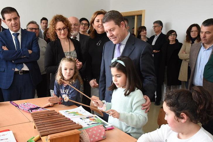 Page inaugurada el nuevo CEIP Ildefonso Navarro de Villamalea (Albacete)