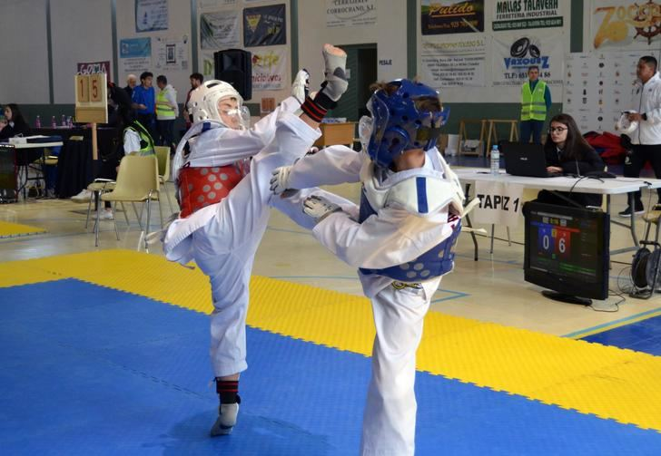 El Club Jang compitió con cuatro albaceteños en el Campeonato de Edad Escolar de taekwondo