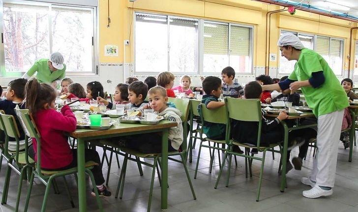 Imagen de archivo de un comedor escolar de la Junta de Castilla-La Mancha, que colabora en este estudio.