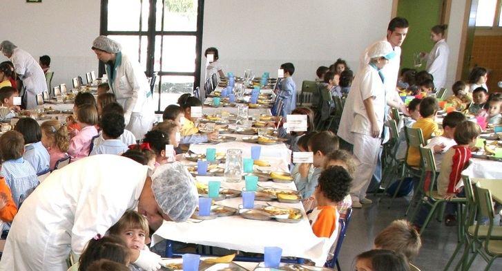 Seis comedores escolares de Albacete abrirán durante la Navidad