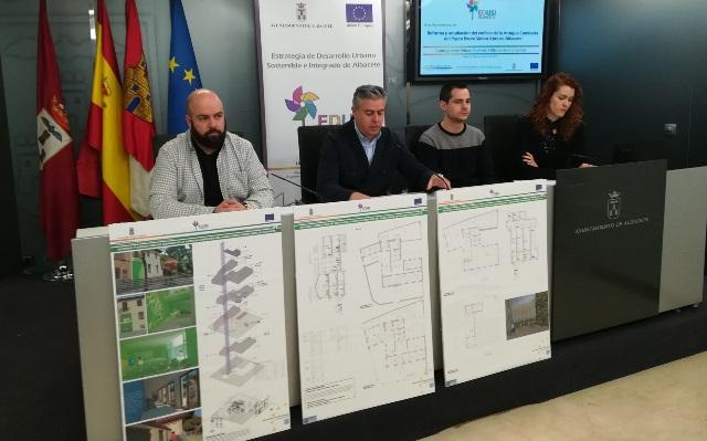 La antigua comisaría de Albacete, en Simón Abril, se rehabilitará para diferentes usos