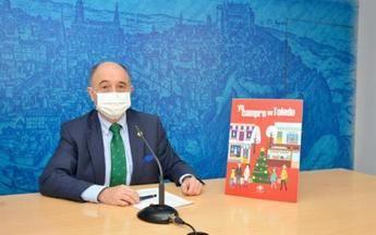 El concejal de Promoción Económica de Toledo, Francisco Rueda, en rueda de prensa
