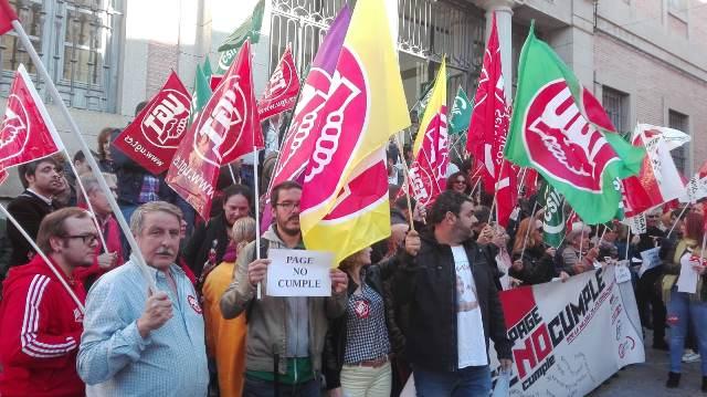 Los empleados públicos de Castilla-La Mancha piden negociar con la Junta y anuncian movilizaciones