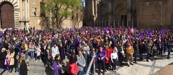 Imagen de la concentración de Toledo
