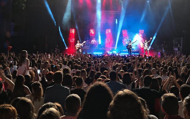 Llenazo de Morat en la Feria de Albacete, en un concierto muy animado