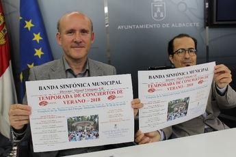 La Banda Sinfónica Municipal de Albacete comienza mañana la temporada de conciertos en el Parque Abelardo Sánchez