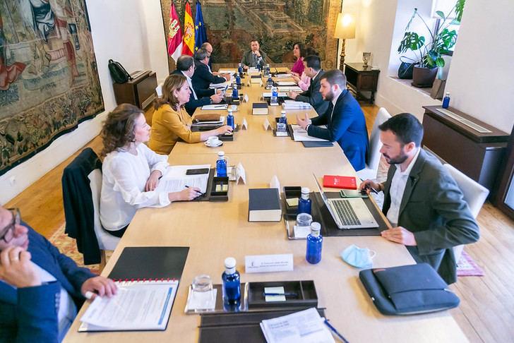 Reunión del consejo de gobierno este martes 2 de junio de 2020