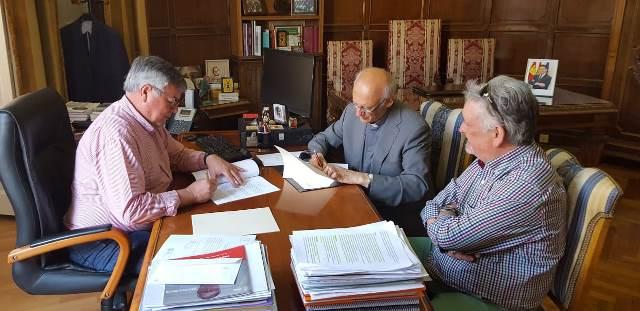 Acuerdo para continuar las obras del convento de Franciscanos de Hellín