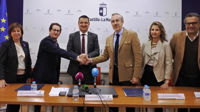 Convenio entre Junta y Diputación para favorecer la innovación en el sector agroalimentario y forestal