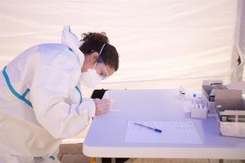 Bajas los contagios de coronavirus en Castilla-La Mancha hasta 588 casos y descienden los hospitalizados