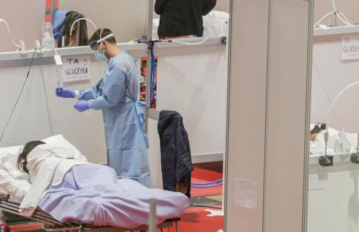 281 muertos por coronavirus en España en las últimas 24 horas