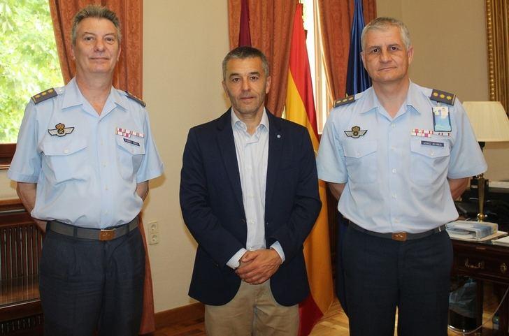La Maestranza Aérea de Albacete prepara el relevo de sus mandos